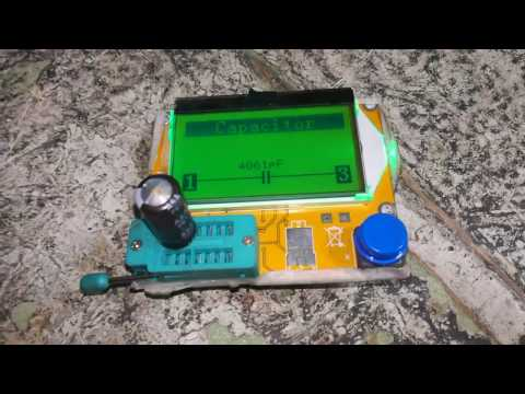 Testing a bad capacitor with cheap ESR meter
