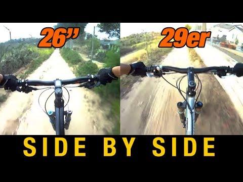 "26"" Full Suspension VS 29er Hardtail - 26 versus 29 inch Wheels"