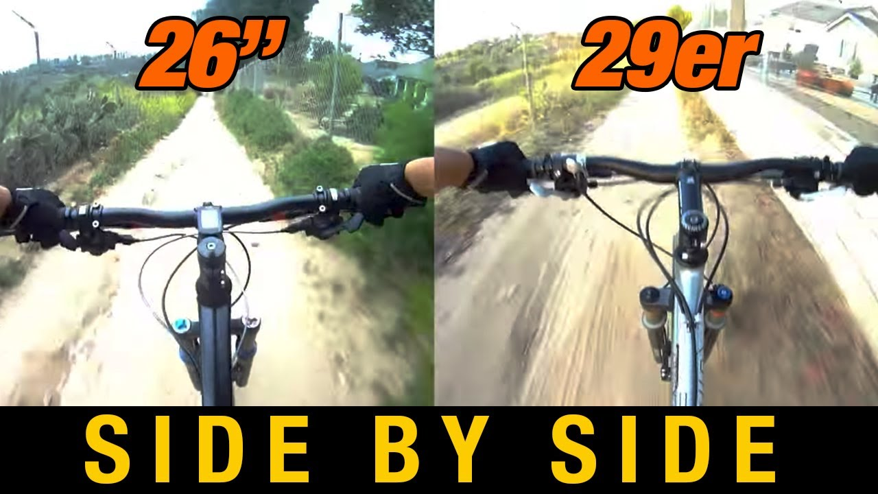 26 Full Suspension Vs 29er Hardtail 26 Versus 29 Inch Wheels