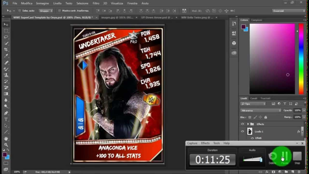 WWE Supercard Custom Cards Ep. #1: Intro: How to Make a Sv card and ...