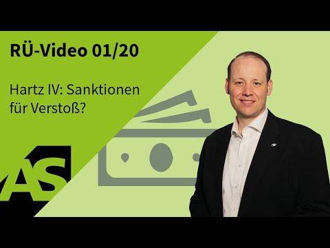 RÜ-Video 01/20 Hartz IV: Sanktionen Für Verstoß Gegen Mitwirkungspflicht Teilweise Verfassungswidrig