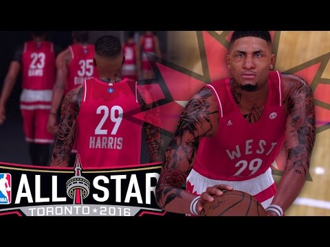 NBA 2K16 MyCAREER - GREATEST ALL-STAR GAME EVER!! 4 BUZZER BEATERS IN ONE GAME!