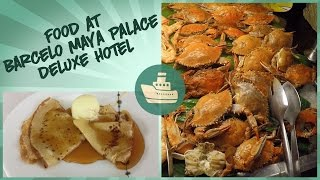 Food at Barceló Maya Palace Deluxe Hotel