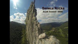 Seneca Rocks Climb - Lots of Air Beneath My Heels