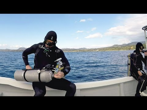 Boat Diving Entry