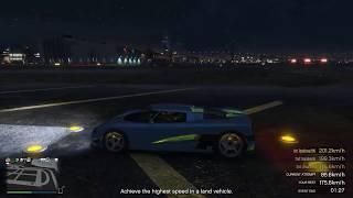 Highest Speed Challenge [Entity XF w/Speed Glitch] | GTA Online