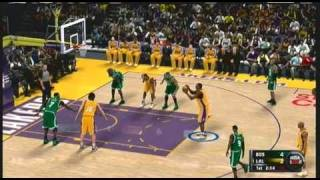NBA 2k11 Demo Gameplay Xbox 360