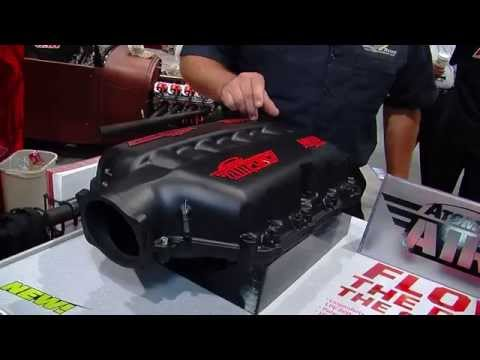 MSD Air Force LS and LT1 Intake Manifolds SEMA 2014 Video V8TV