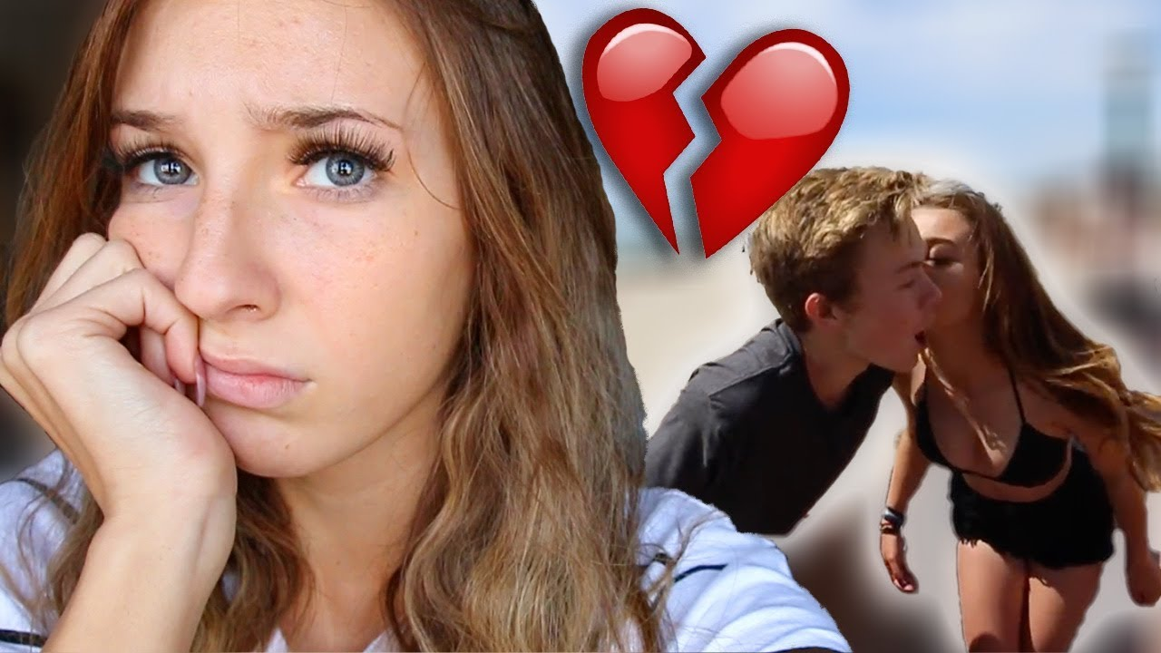 my boyfriend kissed another girl