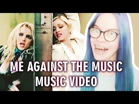 BRITNEY SPEARS - ME AGAINST THE MUSIC FT. MADONNA (MUSIC VIDEO REACTION)   Sisley Reacts