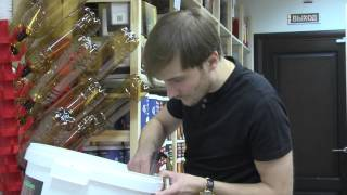 Розлив пива Мирбир Москва(, 2015-06-30T11:41:33.000Z)