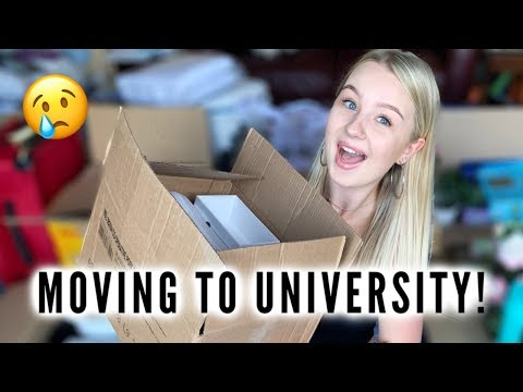 MOVING TO UNIVERSITY VLOG! | First Year Of Uni