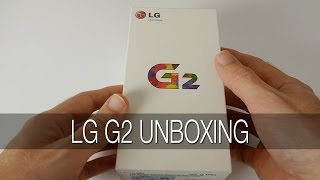 LG G2 ( D802 ) Unboxing & First Look