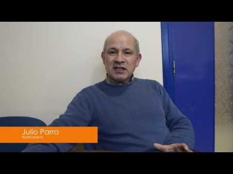 """Julio Parra, Nutricionista Zona Agro """"El Huevo"""