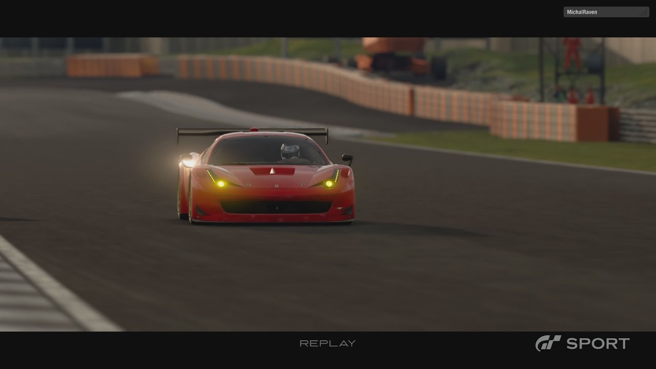 GT Sport Closed Beta   2013 Ferrari 458 Italia GT3 Gameplay