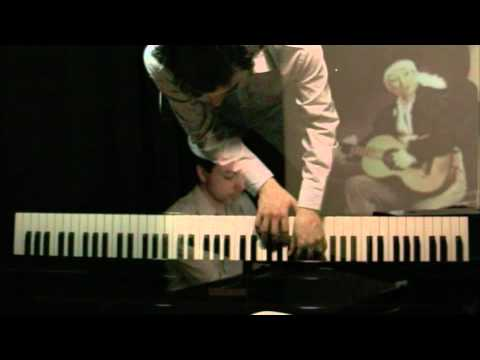 The Street, The Guitarist and the Little Horse by Federico Mompou (Piano : Damien Luce)