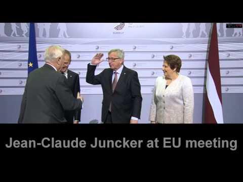 Jean Claude Juncker - funny compilaton
