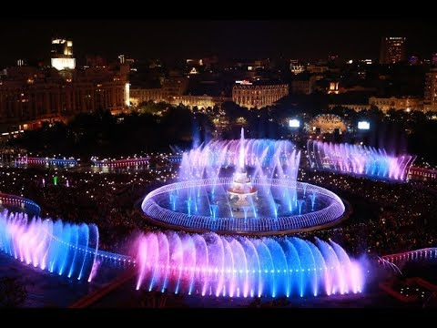 OASE Fountain Technology | Unirii Bucharest Romania