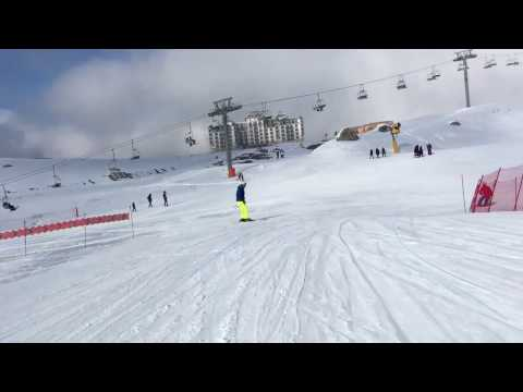 Skiing experience in Shahdag,Azerbaijan -   تجربة التزلج في شاهداغ، اذربيجان