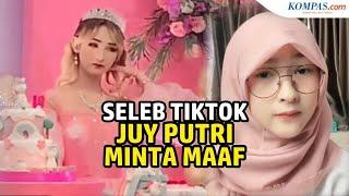 Viral Video Gelar Pesta di Masa PPKM, Seleb TikTok Juy Putri Minta ...