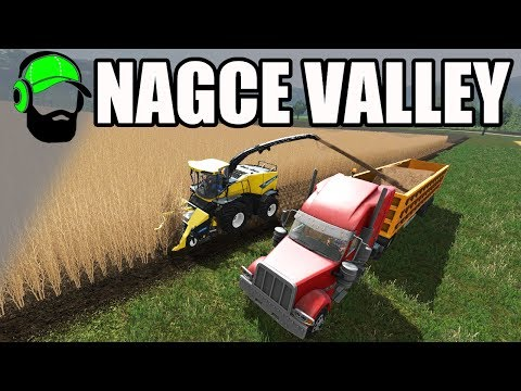 Farming Simulator 17 - Nagce Valley(Beta map) A Midwest American map  - Chipping Poplars