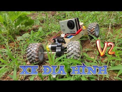 Hướng dẫn chế XE ĐỊA HÌNH 2 cầu ( 4x4 ) - v2