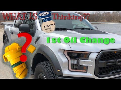 2017-2018 Ford F150 Raptor Oil Change
