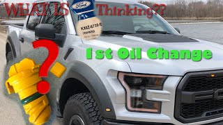 2017-2018 Ford F150 Raptor Oil Change