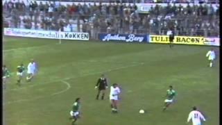 Irland-Danmark 13.11.1985 (VM-Kvalifikation 1986)