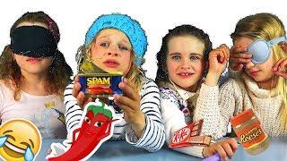 NORRIS NUTS IN AUSTRALIAN KIDS BLINDFOLD FOOD TASTING