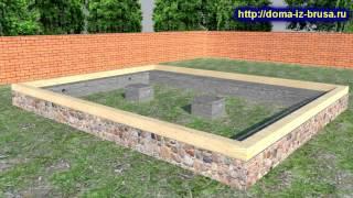 видео Строительство дома из бруса: основные преимущества