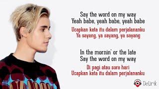 Yummy - Justin Bieber (Lyrics video dan terjemahan)