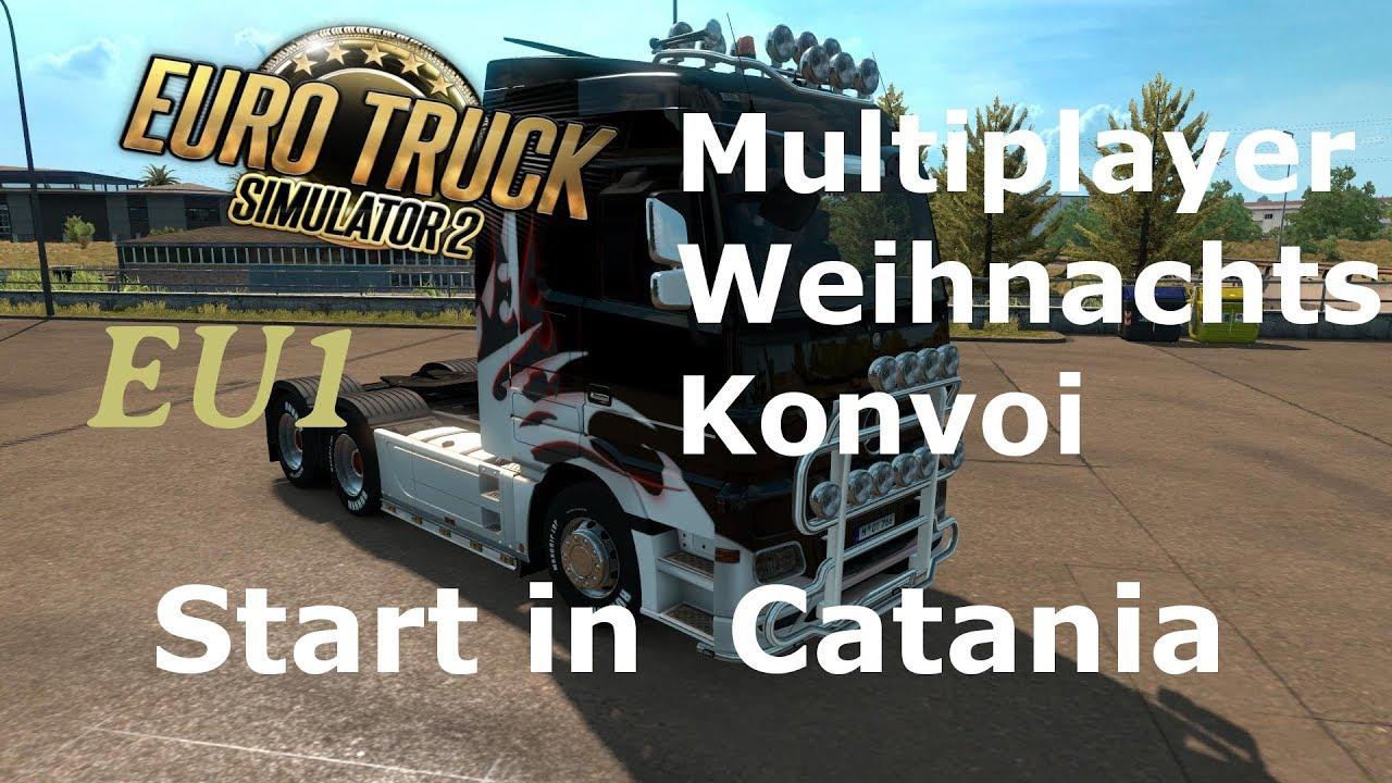 Ankündigung - [PC][MP][EU1]Euro Truck Simulator 2 -Weihnachstream ...