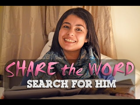 SEARCH FOR HIM | Share The Word