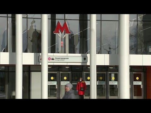 Сразу шесть новых станций метро открыли в Москве.
