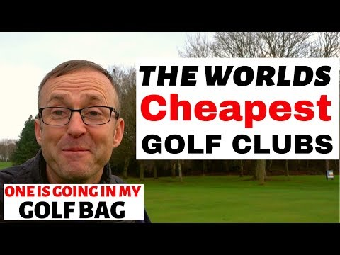ARE CHEAP GOLF CLUBS ANY GOOD - YES ONES GOING IN MY BAG
