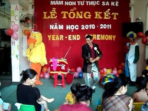 Chương Trình Lễ Tổng Kết  Năm Học Trường mầm non Sa Kê  2010-2011