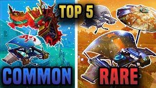 Top 5 RAREST GLIDERS in Fortnite Battle Royale (Insane Glider Skins in Fortnite)