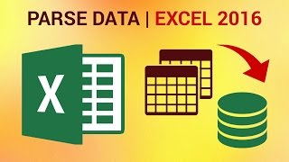How to Parse Data in Excel 2016 - Using Text to Colums