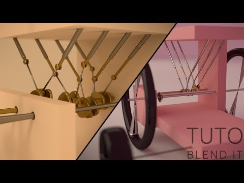 Tutoriel Blender : armature et drivers