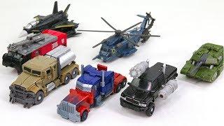 Transformers Mini Optimus Prime Megatron Sentinal Ironhide Blackout Hatchet Guzzle Robot Car Toys