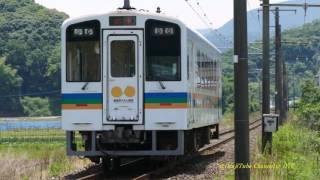 「ななつ星」 乗り入れへ 肥薩おれんじ鉄道 「 佐敷駅 → 平生踏切 」2015/5