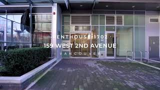 Penthouse 1702 159 West 2nd Avenue, Vancouver for Rimpy Hothi