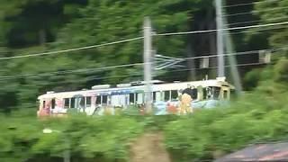 [警笛あり]京都丹後鉄道 KTR700形丹後ゆめ列車 宮津駅付近通過