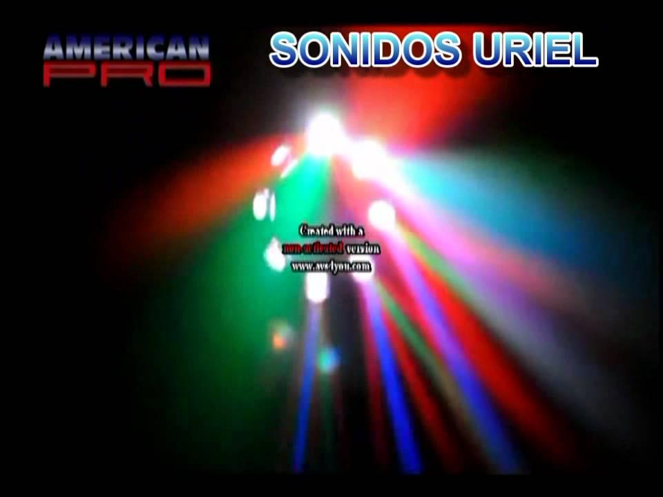 Efectos de luces para fiestas youtube for Luces led para jardineras