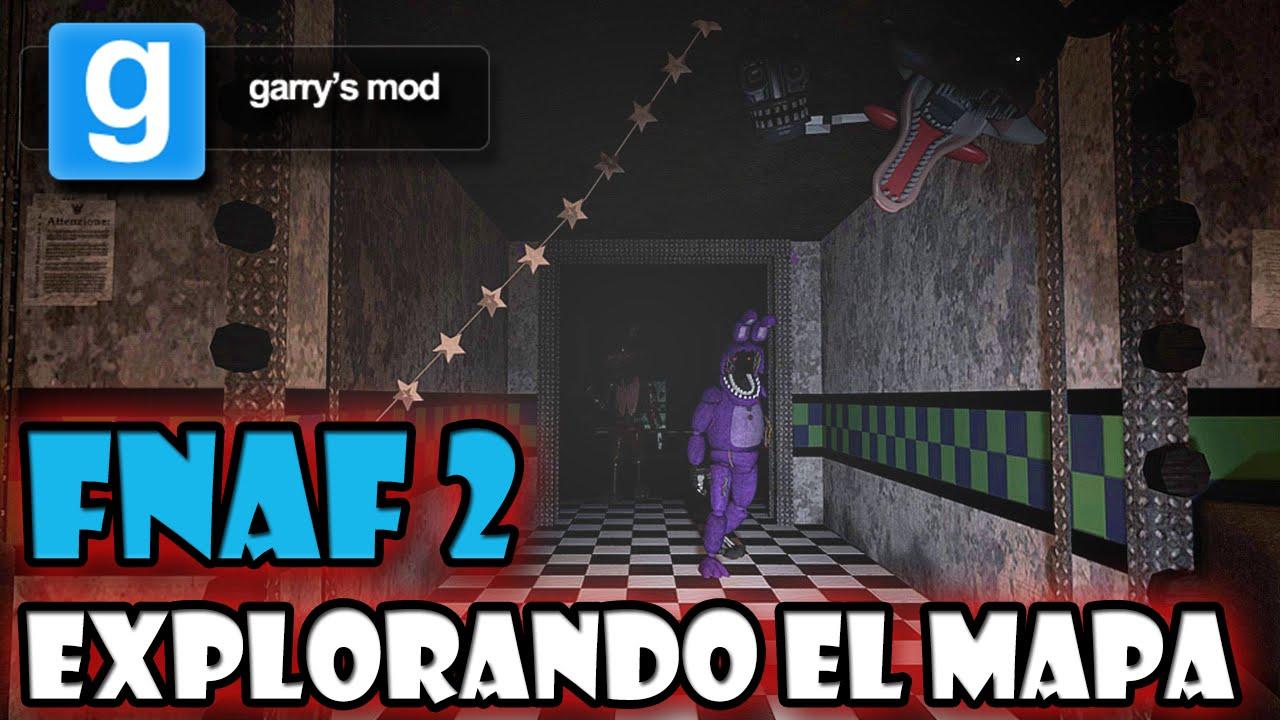 Mostrando el Mapa de Five Nights at Freddy's 2 en Garry's