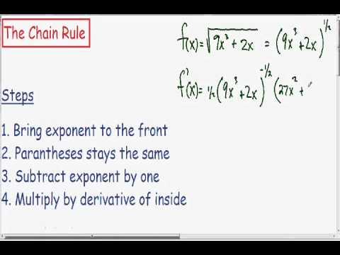 Chain Rule 2