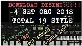 Download Gratis 4 Set (total 19 style),Untuk ORG 2018