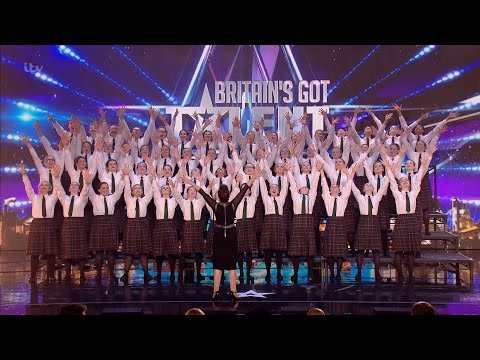 Presentation School Choir - Britain's Got Talent 2016 Audition week 3