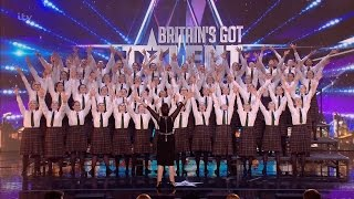 presentation school choir britain s got talent 2016 audition week 3